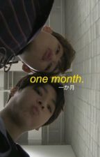 one month | jimin by SVTEENS