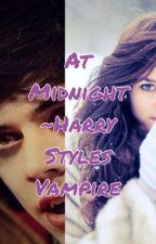 At Midnight- Harry Styles Vampire by laurenstoranlinson