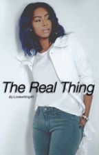 The Real Thing x obj by lovewriting45