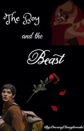 The Boy and the Beast: A Merthur Beauty and the Beast AU by OncerofStorybrooke