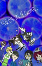 4 Ukes Vs 4 Semes Yaoi Creepypasta by 13pendeja13