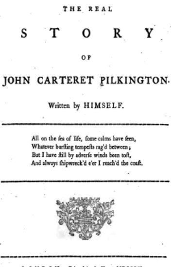 The True Story of John Carteret Pilkington