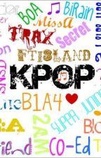 Five Stars K Pop Friends by ErynnJoanna