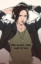 Son glock, mon chat et moi || 🔫, 🐈& ✌️ || by InvisibleAloneGirl