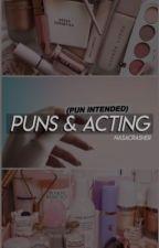 Puns and Acting [∆] Elizabeth Olsen  by Avengetheguardians