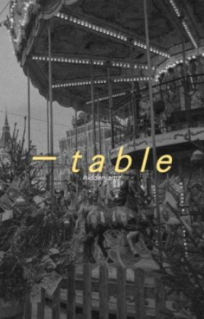 table | k.taehyung [COMPLETED] by HiddenJamz