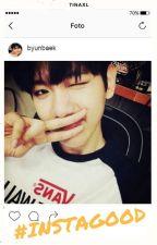 #instagood -baekyeol texting by tinaxL