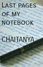 Last Pages Of My Notebook by ChaitanyaSharma740