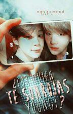 「¿Por quién te sonrojas, Yoongi?」|  y.m. by nevxrmxnd