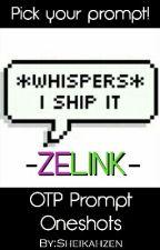 OTP Prompt Oneshots; Zelink (The Legend of Zelda)  by Sheikahzen