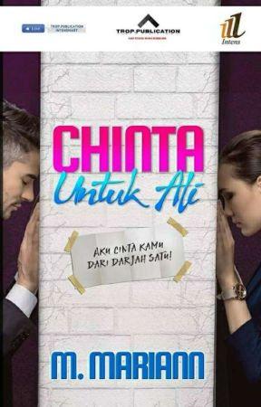 Chinta untuk Ali ( Sudah Terbit ) by M_mariann
