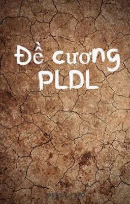 Đề cương PLDL