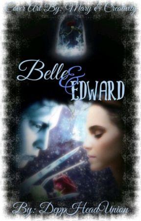 Belle & Edward 🌹 ♡ Beauty & The Beast x Edward Scissorhands by DeppheadUnion