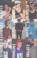 The guys that changed my life||magcon by sofifava