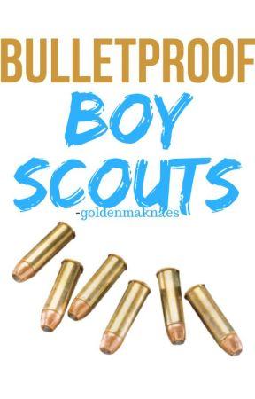 Bulletproof Boy Scouts - RANDOM by -goldenmaknaes