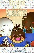 Histoire de deux squelettes by AlyxNeko