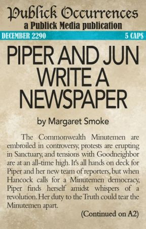 Piper and Jun Write a Newspaper by MargaretSmoke