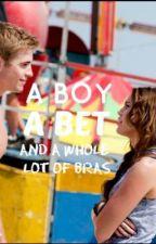 A boy, a bet and a whole lot of bras. by my_name_is_a_secret