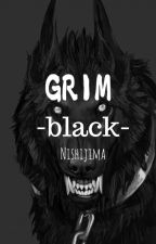 Grim : Black by SilverFoxes_