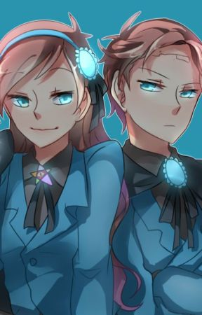 Dangerous love!{Reverse falls twins} by SoukoLinh