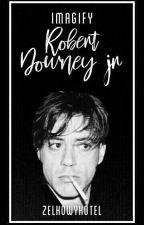 Robert Downey jr《imagify》 by ZelkowyKotel