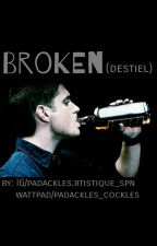 """Broken"" - Destiel by shirochim"
