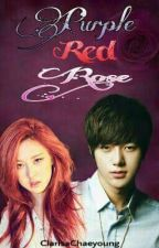 Purple Red Rose by ClarisaChaeyoung