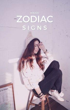 Zodiac signs <3 by dawbooksie