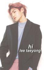 hi. taeyong by -taeyongsmile