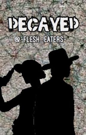 Decayed~Carl Grimes x Clementine by -Flesh_Eaters-