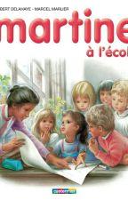 Martine à l'école by algerienneb213