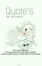 Qoutes by afiinurul