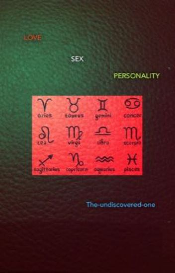 Love .. sex .. personality