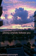 twitter;; johnny orlando by inmendesxarms