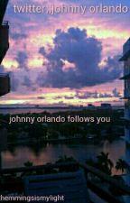 twitter;; johnny orlando by amomeubrasil
