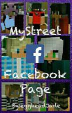 If Mystreet characters used Facebook by eggheadJade
