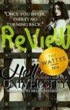 Review: Hell University by KnightInBlack by J_Gaea