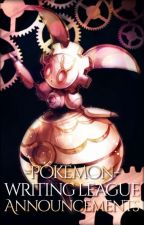 PWL Announcements by PokemonWritingLeague