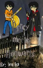 Percy meets Hogwarts (Hp & Pj FF) by lenxka