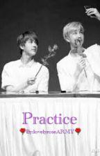 Practice?Namjin? by lovelyroseARMY