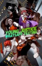 Young Justice Whatsapp Texting by daughtersofbatman