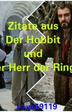 Zitate aus Der Hobbit und Der Herr der Ringe by Love69129