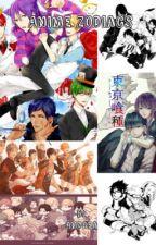 Anime Zodiacs by AndreaAllin