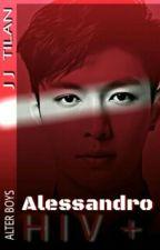 Alessandro HIV + by JJTilan