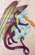 Dragon Scratch  by Scarletbluefire