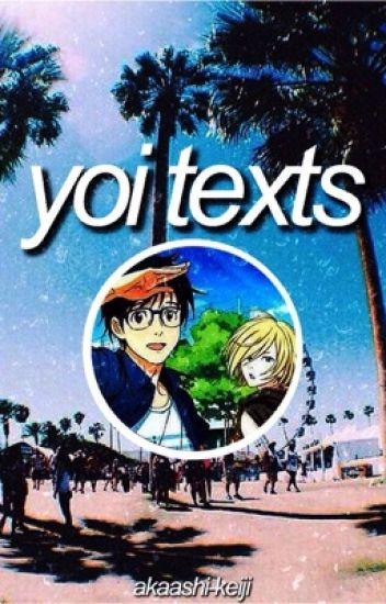 yuri on ice texts