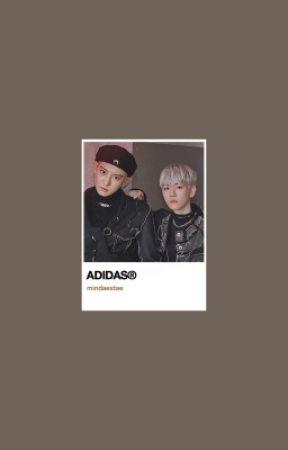 adidas ⁝ chanbaek by mindaextae