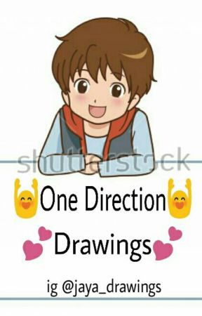 One Direction Drawings by mylarryheart_