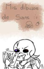 Mis dibujos de sans alv by Quiero_unos_tacos