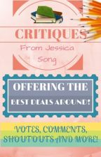 [CLOSED TEMPORARILY] Critiques - Offering the Best Deals Around! by JeXica-